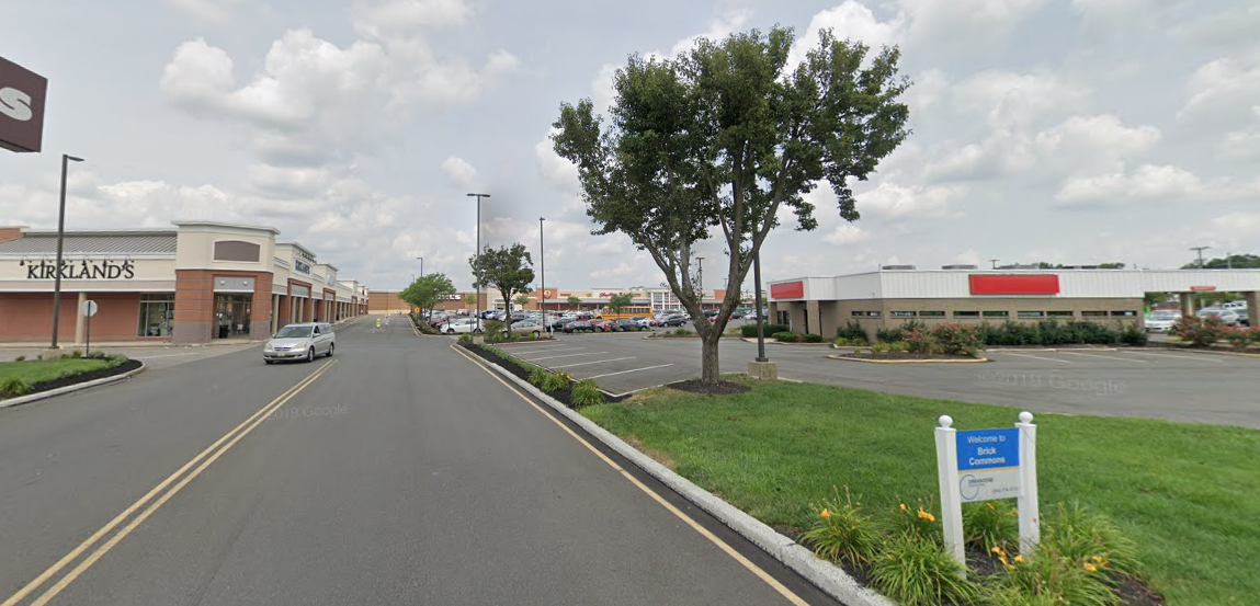 The Brick Commons (Kohl's/Shop-Rite) shopping center. (Credit: Google Maps)