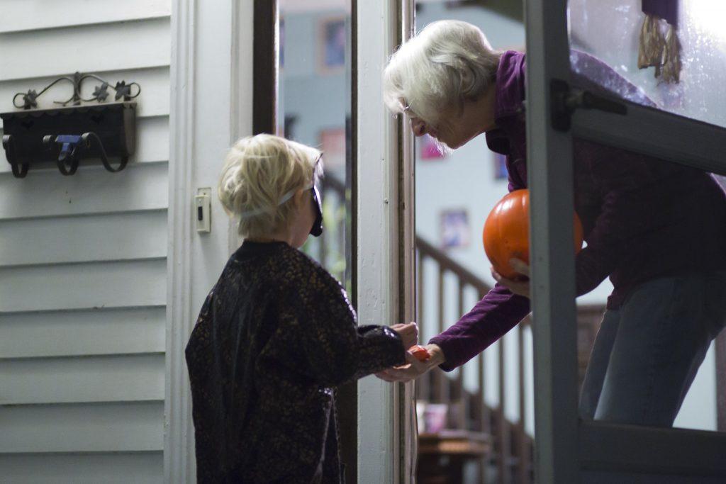 Trick-or-treating on Halloween. (Credit: Keri Logan/ Flickr)
