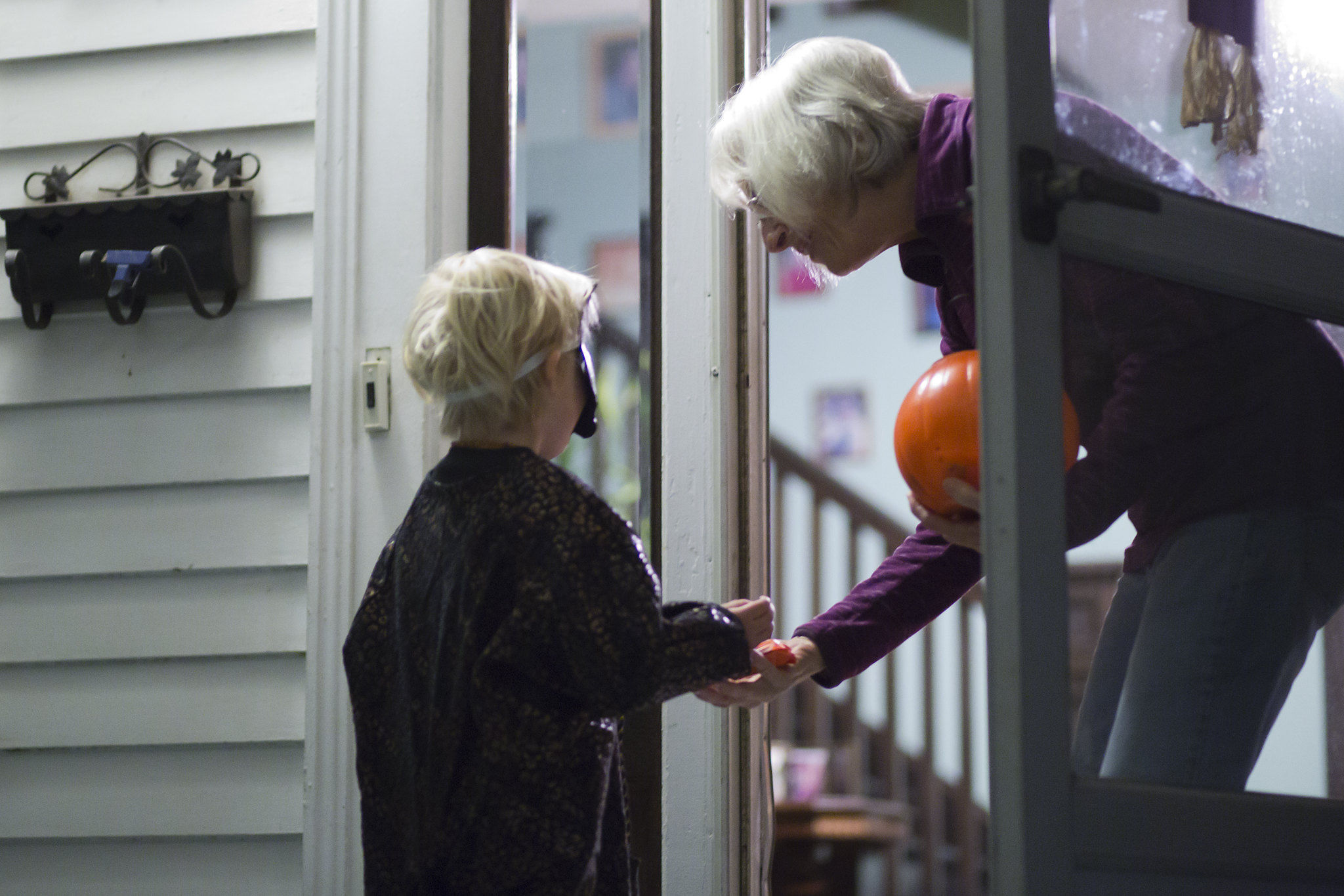 Trick-or-treating on Halloween. (Credit: Keri Logan/ Flickr)