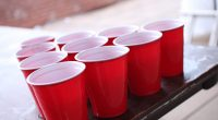 Red party cups. (Credit: arvind grover/ Flickr)