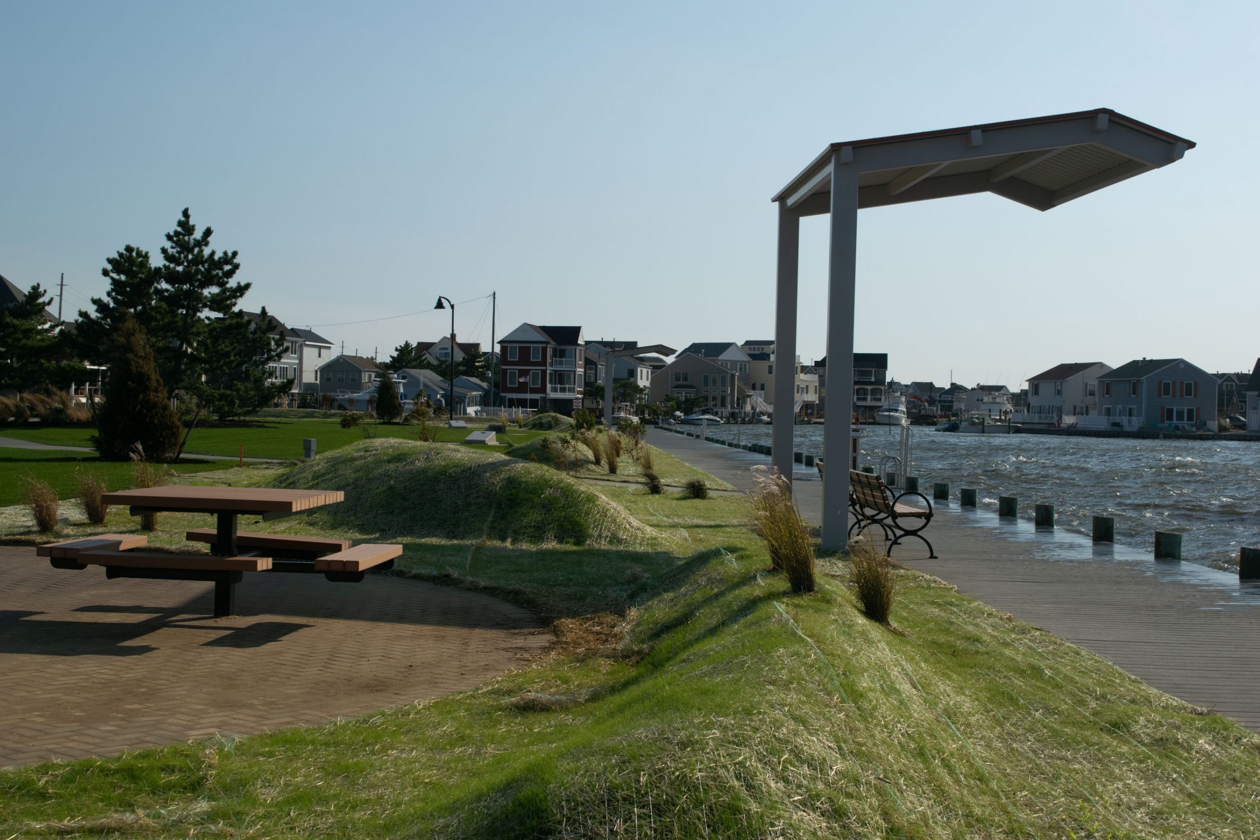 Bayside Park, a day after it reopened, Oct. 7, 2020. (Photo: Daniel Nee)
