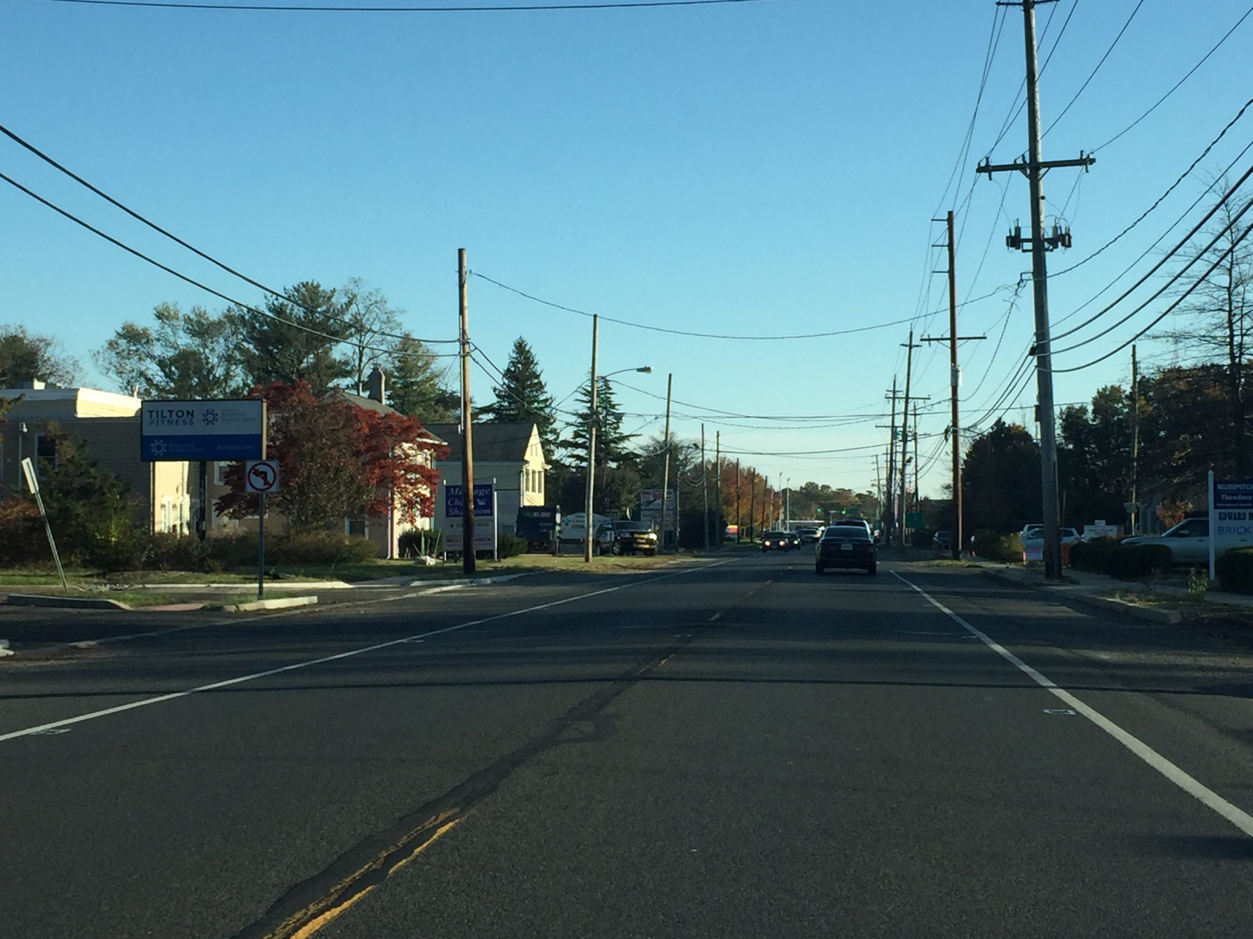 The Route 88 hospital support zone on Route 88, Brick. (Photo: Daniel Nee)