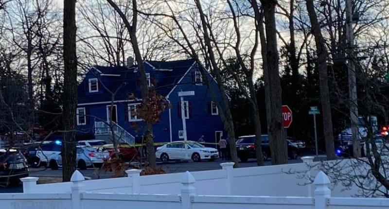 The scene of a murder in Brick Township, Dec. 16, 2021. (Credit: Brick Community/ Facebook)