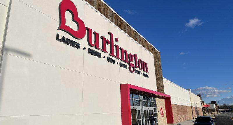 Clothing store Burlington's new location at Brick Plaza, Jan. 2021. (Photo: Daniel Nee)