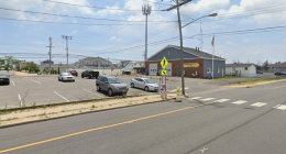 The Pioneer Hose Fire Company building on Route 35, Brick Township. (Credit: Google Maps)