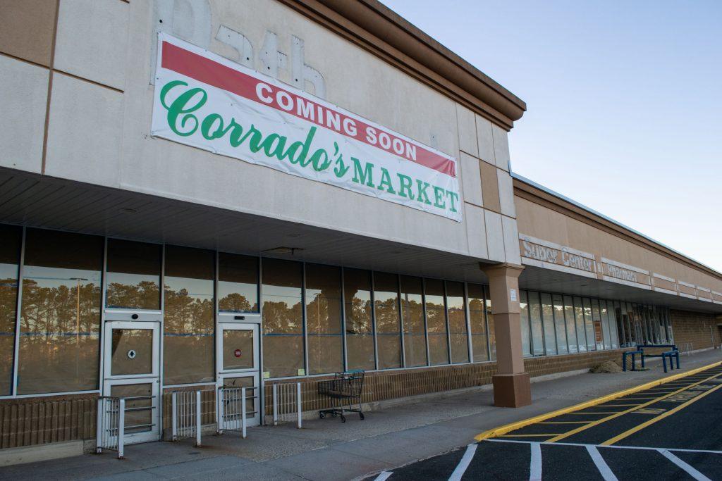 Corrado's Market, under construction in Brick, Jan. 2021. (Photo: Daniel Nee)