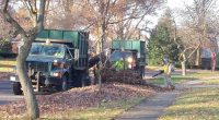 Leaf collection by vacuum truck in Wooster, OH. (Photo: City of Wooster)