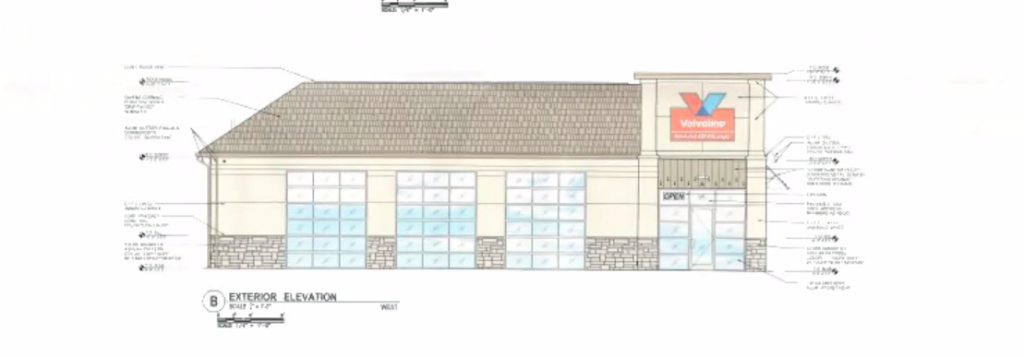 A Valvoline Instant Oil Change location approved for Brick Township. (Screenshot)