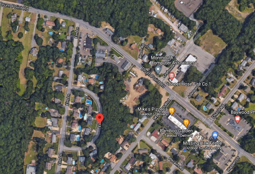 Elm Court, Brick, N.J. (Credit: Google Maps)