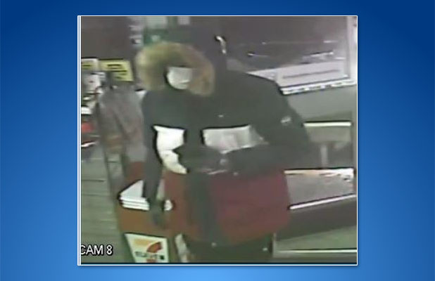 Surveillance video captured the robbery of a Brick 7-Eleven Feb. 17, 2021. (Photo: Brick Twp. Police)