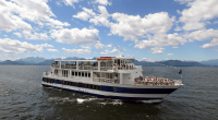 Cruise on Lake Champlain (Credit: Vermont Attractions Association)