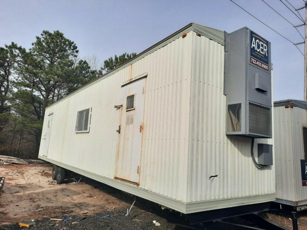 An 8-by-40 foot storage/job site trailer. (Photo: eBay)