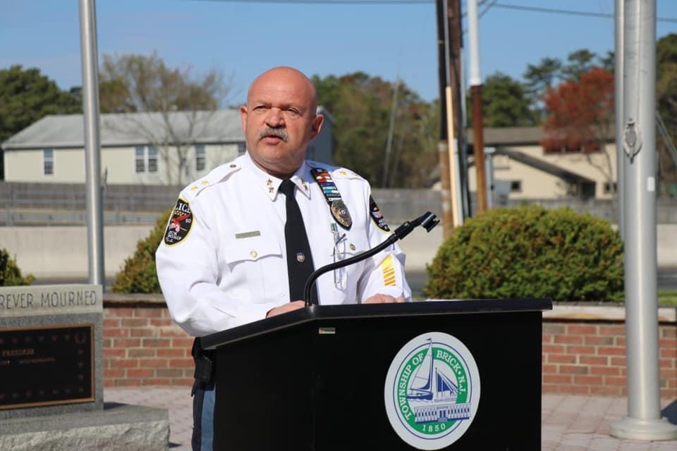Brick Township Police Chief James Riccio. (File Photo)