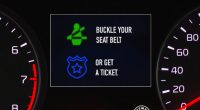 National Highway Traffic Safety Administration's Click It or Ticket 2021 campaign promotional images.