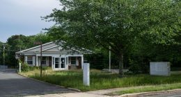 The site of a now-abandoned plan to open a medical marijuana dispensary in Brick at 385 Adamston Road. (Photo: Daniel Nee)