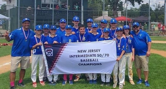 Brick Little League - 2021 50/70 State Champions. (Supplied Photo)
