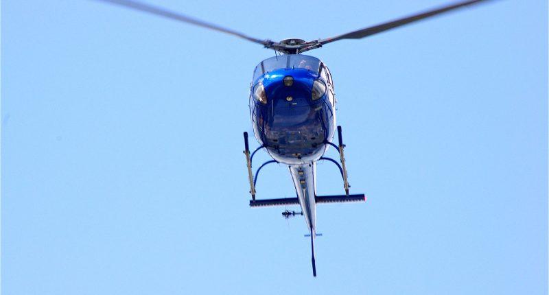 Helicopter. (File Photo/ Credit: David Merrett/ Flickr)