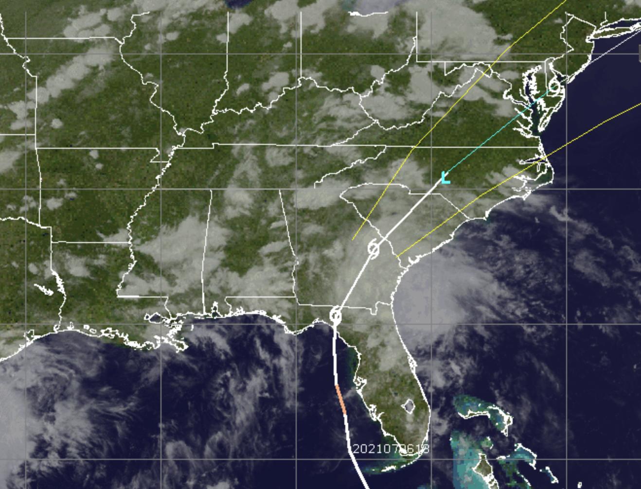 Tropical Storm Elsa (Credit: CIMSS/ Tropical)