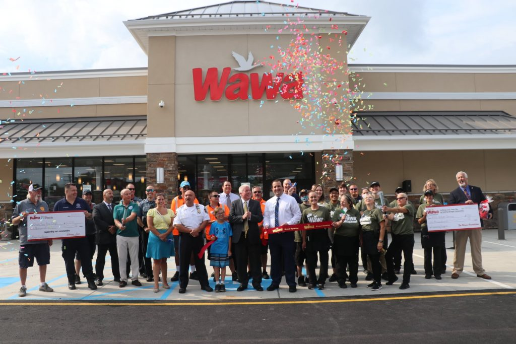 Wawa, Route 70 and Dusquesne Boulevard, opens for business in Brick. (Supplied Photo)