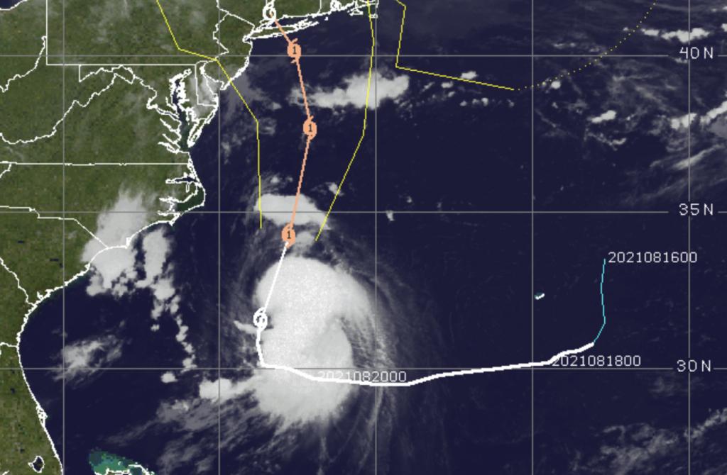 Tropical Storm Henri, Aug. 21, 2021. (Credit: CIMSS/ Tropical)