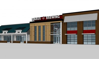 The future Icarus Brewing Company brewery complex, on Route 88 in Brick. (Credit: Icarus Brewing Company)