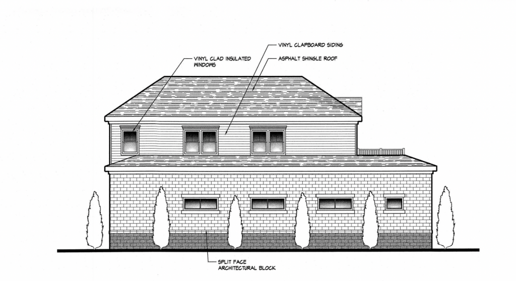 The mixed-use property approved for 427 Old Silverton Road, Brick, N.J. (Credit: Planning Documents)