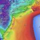 Forecast wind speeds, Wednesday morning, Oct. 27, 2021. (Credit: NWS)
