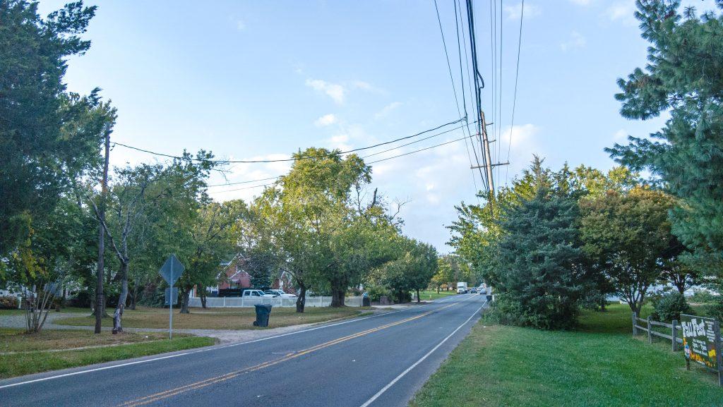 Herbertsville Road, Oct. 2021. (Photo: Daniel Nee)
