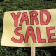 Yard sale sign. (Photo: Creative Commons)